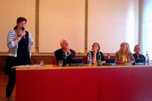 Podiumsdiskussion in Stralsund