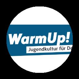 WarmUp MV Logo
