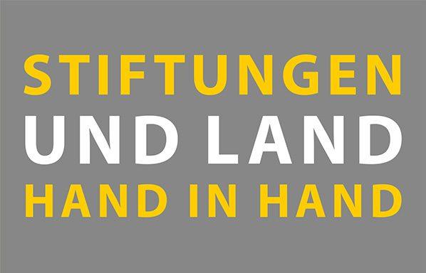 Grafik Stiftungen und Land Hand in Hand